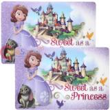 Disney Sofia the First Dining Placemat 2pc Set - Sweet as a Princess