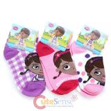 Disney Jr. Doc Mcstuffins Ankelts Kids Socks Set 3 Pair