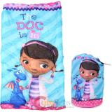 Disney Jr. Doc Mcstuffins  Kids  Sleeping Bag Slumber Bag with Carry Backpack