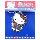 Sanrio Hello Kitty New York Apple Metal Key Chain