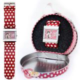 Betty Boop Polka Dots Wrist Watch with Collectable Tin Box