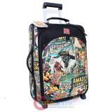 "Marvel Comics Heroes Retro 20"" Trolley Bag Leather Suit Case , Luggage"