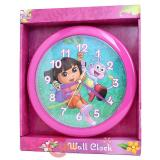 Dora The Explorer Dora with Boots  Wall Clock -9.5in