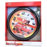 Dinsey Cars Mcqueen Wall Clock  -9.5in Just a Blur