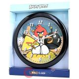Rovio Angry Birds Assorted Birds Wall Clock  -9.5in