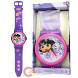 "Dora The Explorer Dora with Boots Wall Clock -36"" Wrist Watch Shape"