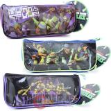 TMNT Teenage Mutant Ninja Turtles  3 Pencil Case Stationery Pouch Set