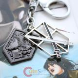 Attack on Titan Shingeki no Kyojin 104th Trainees Squad Emblem with Wall Maria Metal Key Chain