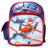 "Cars Planes School Backpack 12"" Medium Bag -  Let's Soar"
