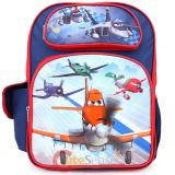 "Cars Planes Large School Backpack 16"" Bag - Let's Soar"