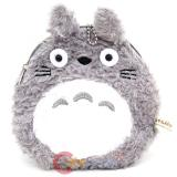 My Neighbor Totoro Plush Coin Wallet , Mini Pouch with Ear and Tail