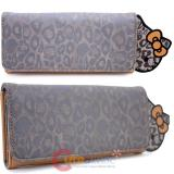 Sanrio Hello Kitty Tonal Leopard Long Wallet by Loungefly