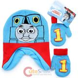Thomas The Tank Engine  Toddler Mitten Gloves and  Beanie Set