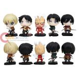 Attack on Titan 5pc Chibi Figure Set