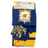 Sky Landers Giants  Kids Beanie  Gloves and  Scarf Set :  Navy