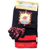 Sky Landers Giants  Kids Beanie  Gloves and  Scarf Set :  Black