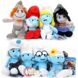 The Smurfs 2 Collectible Plush Doll 8pc Set