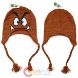 Super Mario Goomba Laplander  Hat  Beanie with Ear Flap (Teen-Adult)