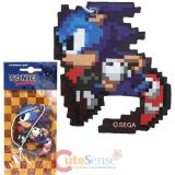 Sonic The Hedgehog 2pc  Car Auto Hanging Air Freshener -16BT Sonic