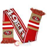 NFL San Francisco 49ers Kinnited Scarf - Stripe Logo