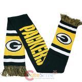 NFL Green Bay Packers Kinnited Scarf - Stripe Logo