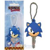 Sonic Classic Sonic Big Face Rubber Key Cap , Key Holder