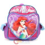 "Disney Little Mermaid Ariel School Backpack 10"" Toddler Bag - Princess Ariel"