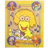 Fraggle Rock Muppets  Microfiber Plush Throw Blanket  Twin (50x60) - Play