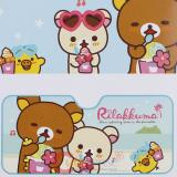 San X Rilakkuma with Friends  Windshield  Front Window Sun Shade