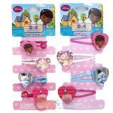 Disney Jr. Doc Mcstuffins Snap Clips  Hair Ponies Set Hair Accessories Set