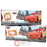 Disney Cars Mcqueen 45pc Sandwich Snack Bags Set