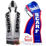NFL Oakland Raiders Hooded Knit Scarf with Pocket
