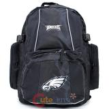 Philadelphia Eagles Large School Backpack NFL Team Logo Dodgers  Trooper Bag