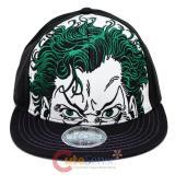 DC Comics Joker Big Face Flat Bill Hat (Size 7 1/8)