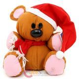 Garfield Odie Plush Doll with Christmas Santa Hat