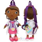 Disney Jr. Doc Mcstuffins Plush Doll  Backpack Plush Bag