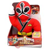 Power Rangers Super Samurai Plush Doll with Battle Sounds - Red Ranger