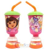 Dora The Explorer Dora with Boots Tumbler Drinking Bottle -  Fun Floats Sipper