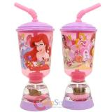 Disney Princess with Tiana Tumbler Drinking Bottle -  Fun Floats Sipper