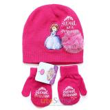 Sofia The First  Kids Beanie and Mitten Gloves Set