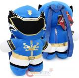 Power Ranger Kawaii Plush Doll Backpack  Costume Bag - Blue Ranger