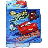 Disney Cars McQueen Kids  Nap Mat with Pillow and Balnket