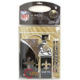 NFL New Orleans Saints 11pc School Stationary Set
