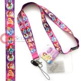 Disney Pirncess with Tiana  Lanyard KeyChain ID Pocket
