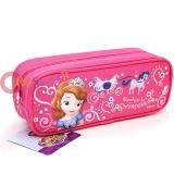 Disney Sofia The First Zippered  Pencil Case Pouch Bag - Ready To be a Princess