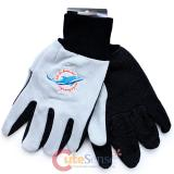 NFL Miami Dolphins Sports Utility/Work Men's  Gloves