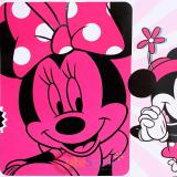 "Disney Minnie Mouse Plush Mink  Blanket 60"" x 80"" - Classic Minnie In Pink"