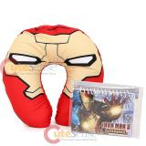 Marvel Iron Man 3  Neck Rest Pillow Travel Cushion with Mini Note