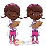 Disney Doc McStuffins Soft Touch PVC Magnet - 2pc Set