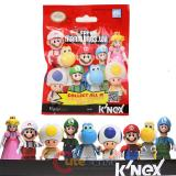 K'NEX Nintendo Supermario Bros  Wii Block Figure Lego - 9pc Set